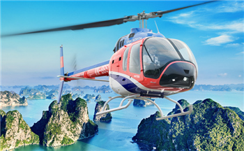 HA LONG BAY CRUISE WITH HELICOPTER TOUR