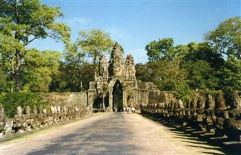 The Southern Gate of Angkor Thom