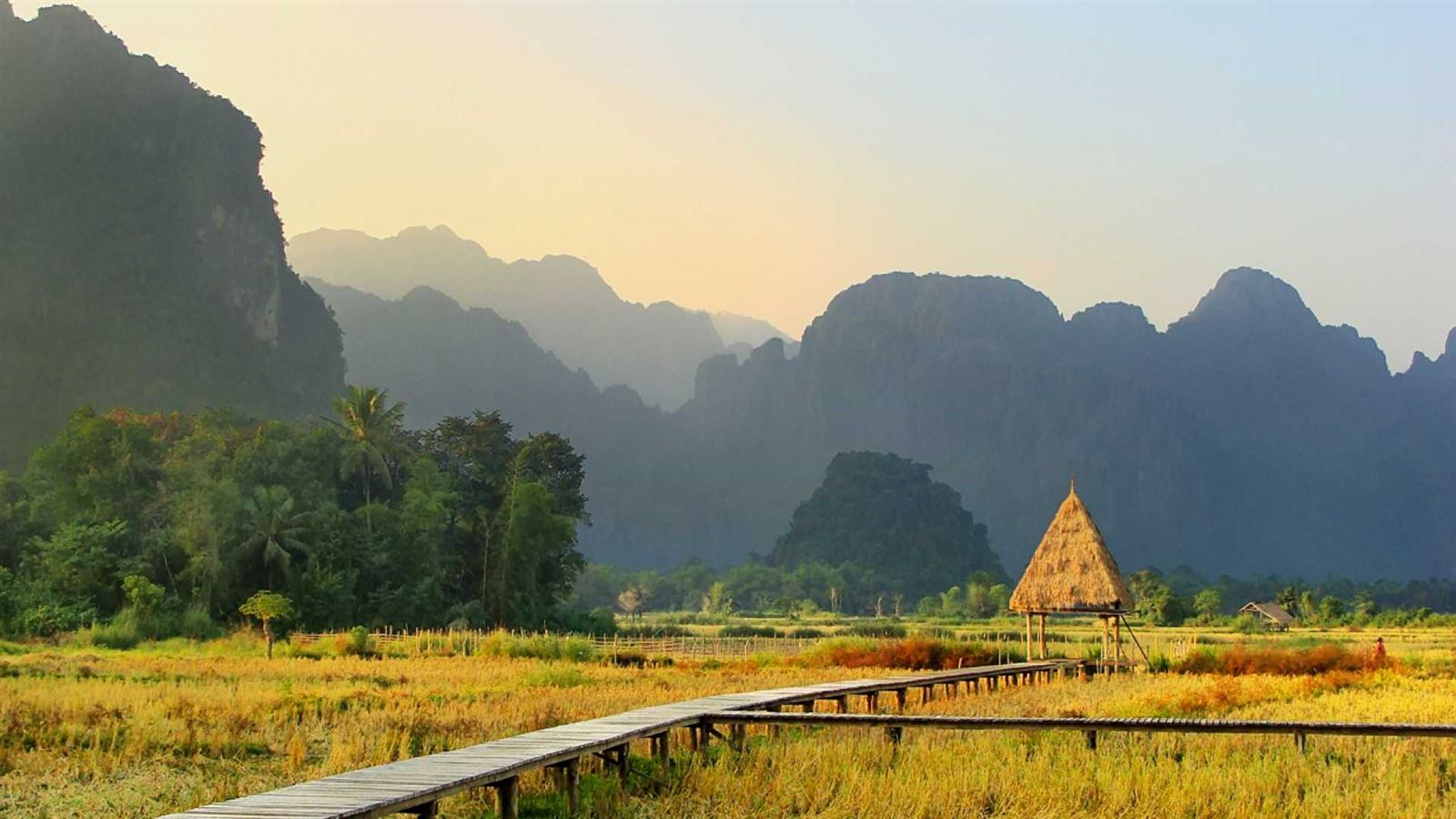 countryside of laos